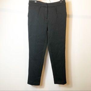 Reiss Black textured trouser pants size 6
